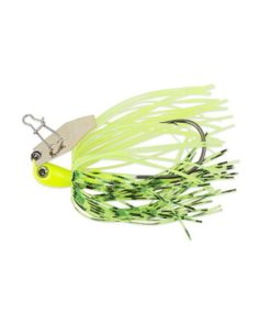 3.5g ChatterBait Micro - Chartreuse / White
